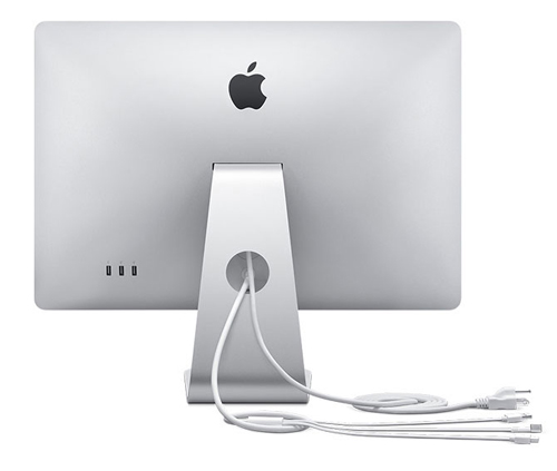 Apple Unveils 24-inch LED Cinema Display view Back
