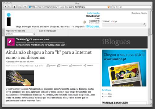 Blog Teknologica