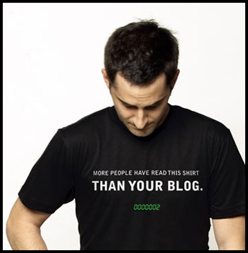 t shirt read this t shirt than your blog Your Blog Shirt