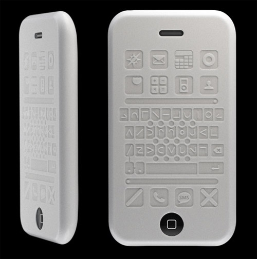 tactile Silicone case for the Apple iPhone