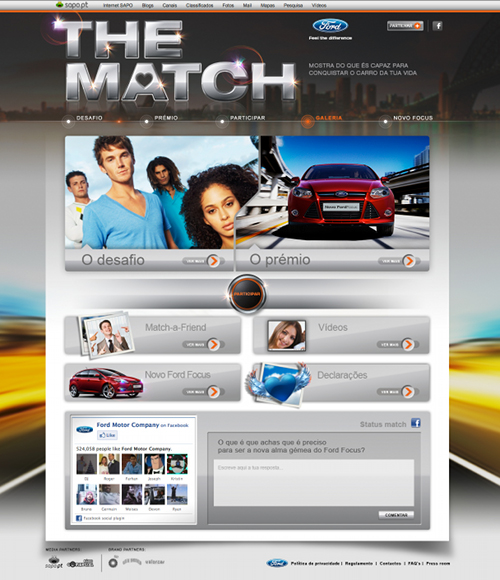 The Match - o novo concurso online