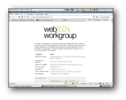 Web 2.0 Workgroup